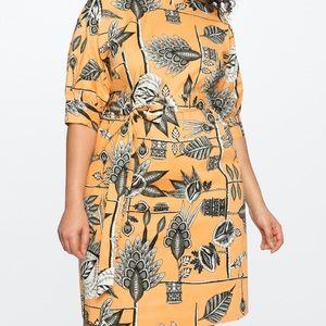 Eloquii Mock Neck Dress